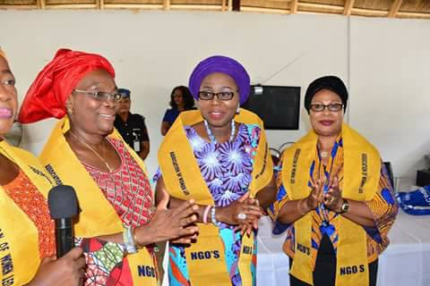 Ondo First Lady throws weight behind NGOs