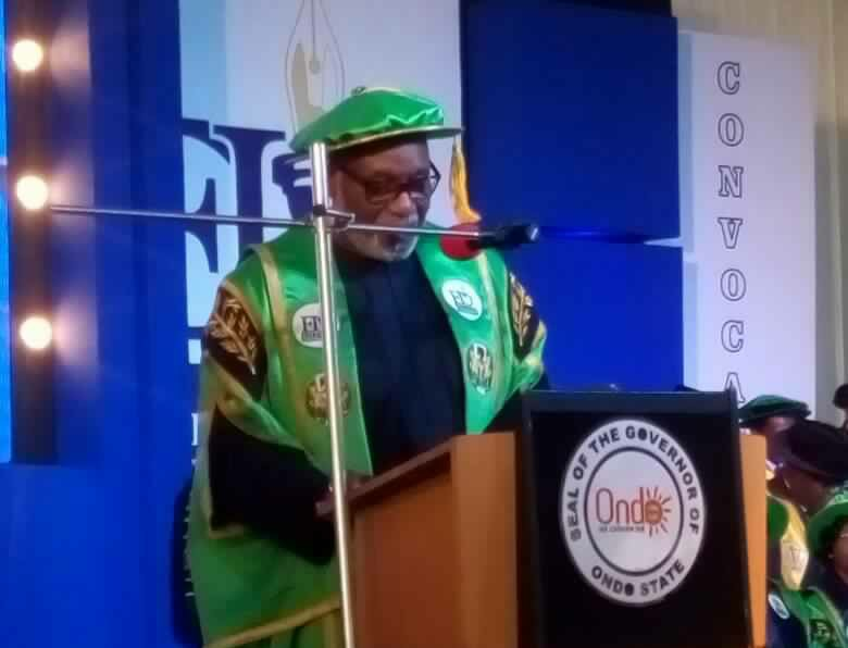 Youths need innovation and creativity to surmount unemployment problems – Akeredolu