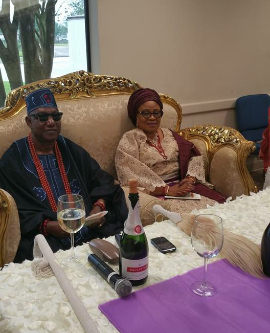 Photos:  The grand finale Welcome party for Oba Dr. Olufaderin Adetimehin, Jimoko 11, Jegun of Ile-Oluji kingdom to Houston, TX. USA.