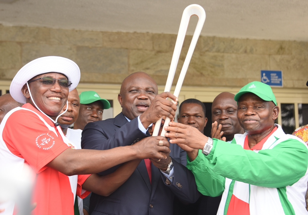2018 Commonwealth Games: Adequate Preparation Will Ensure Gold For Nigerian Athletes – Ambode  …Receives Queen's Baton At Lagos House