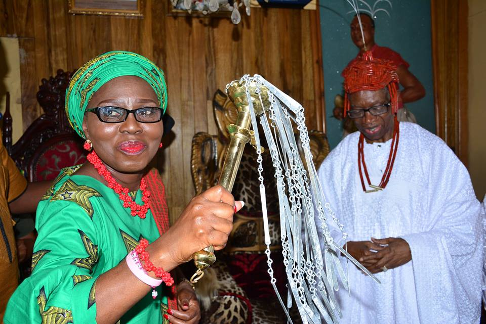 Ondo governor 's wife  Betty  Akeredolu seeks attention  on the state  rich cultural  heritage to boost  IGR