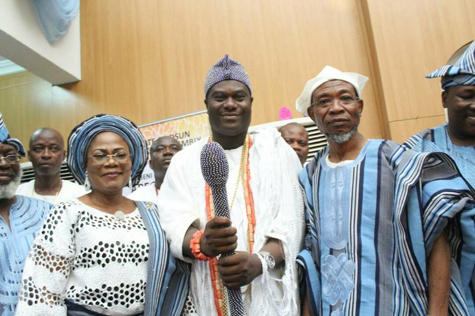 60th Birthday: Ooni Praises Aregbesola Calls a Great Descendant of Oduduwa