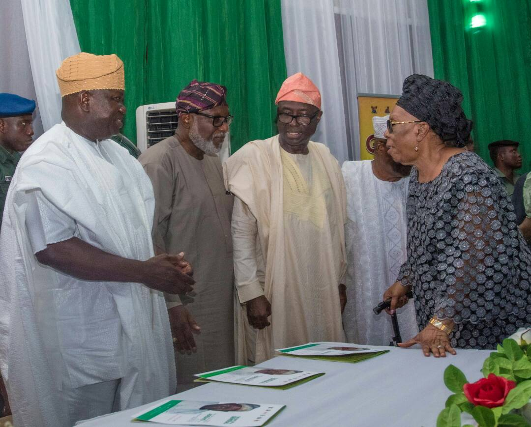 Akeredolu, Saraki and others celebrate life and times of Gen. Adeyinka Adebayo