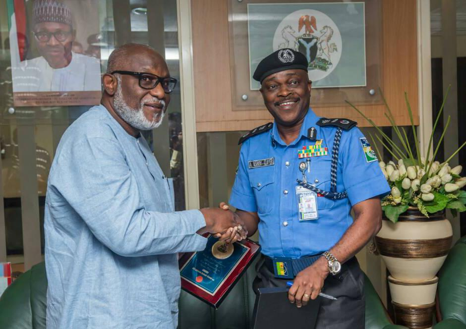 Gov. Akeredolu wants Police Area Command in Ondo Southern Senatorial District as new AIG resumes duties in Zone 11