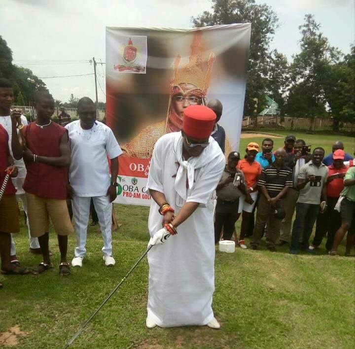 """Sports unify people of all races"", says Oba of Benin"