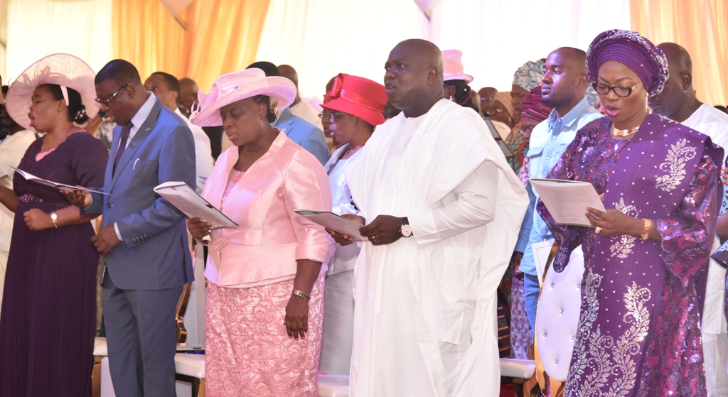 LAGOS@50: AMBODE LAUDS HARMONIOUS RELATIONSHIP AMONG RELIGIOUS, ETHNIC GROUPS …As Ashimolowo Challenges State To Break New Grounds