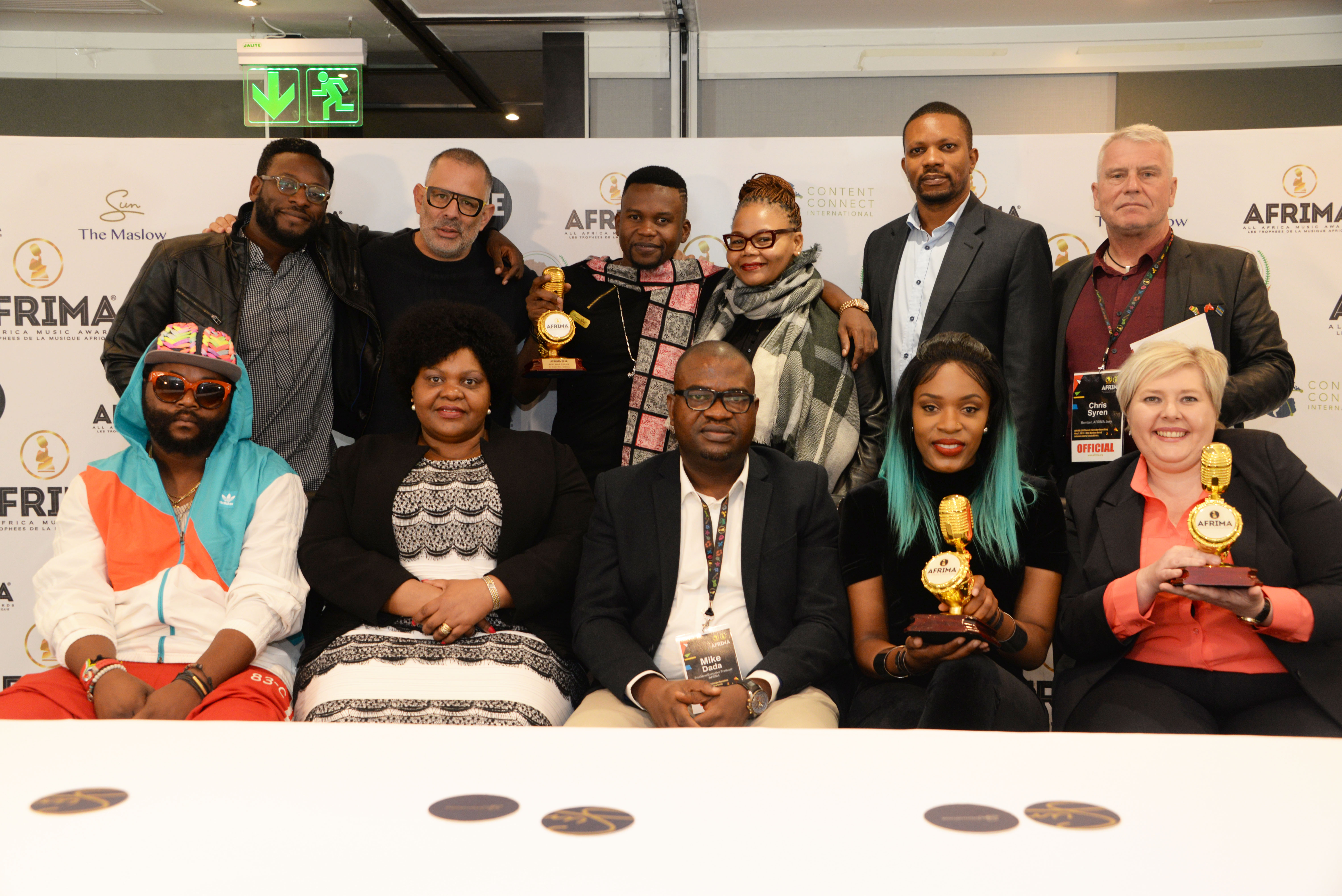 AU Unveils 2017 AFRIMA Calendar In South Africa …..As Entry Submission Opens May 8