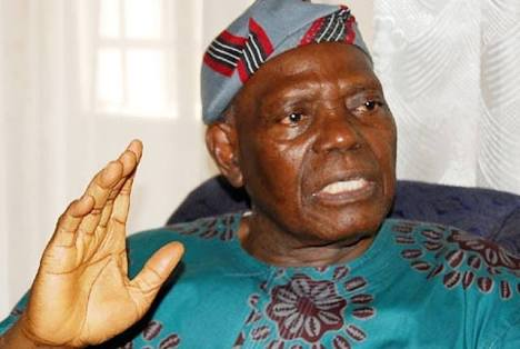 APC Leader, Bisi Akande Urges Nigerians to Pray for President Buhari's Health