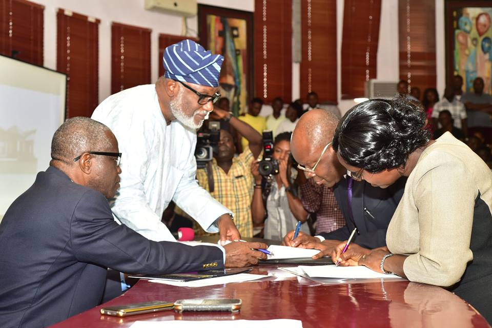 ODSG, FUTA Commence work on Tech hub …FUTA is a true Centre of learning, research and technological advancement – Akeredolu