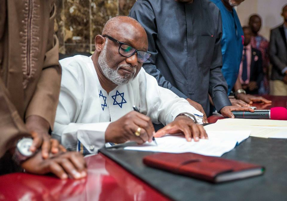 Ondo State gets first Appropriation Act under Governor Akeredolu