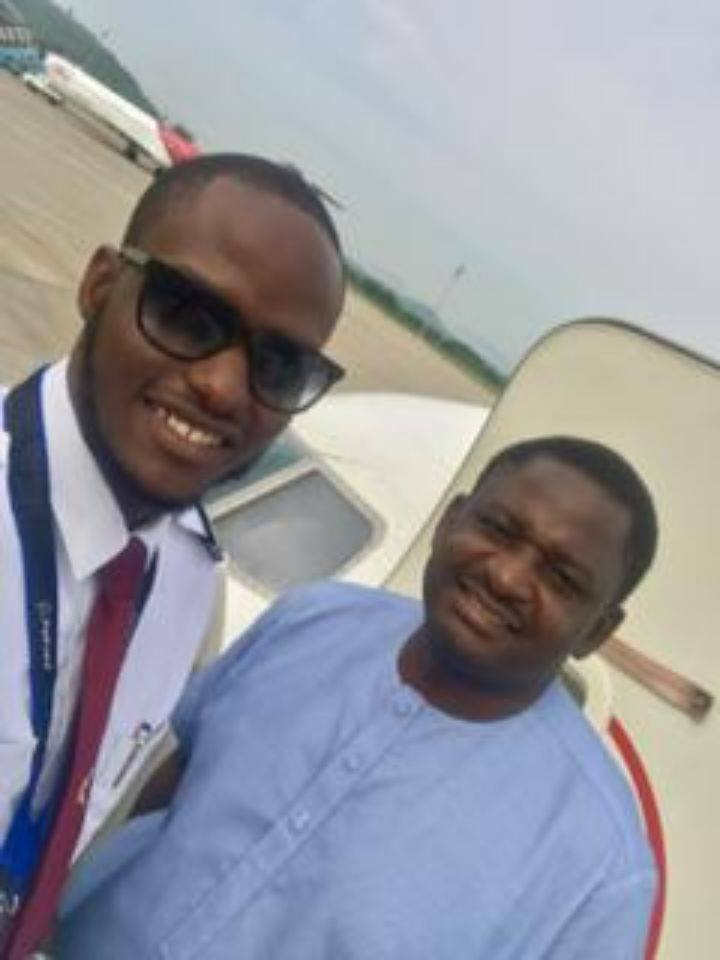 DADDY, I'LL BE A PILOT!' AND HE WAS ONLY 4 YEARS OLD By FEMI ADESINA