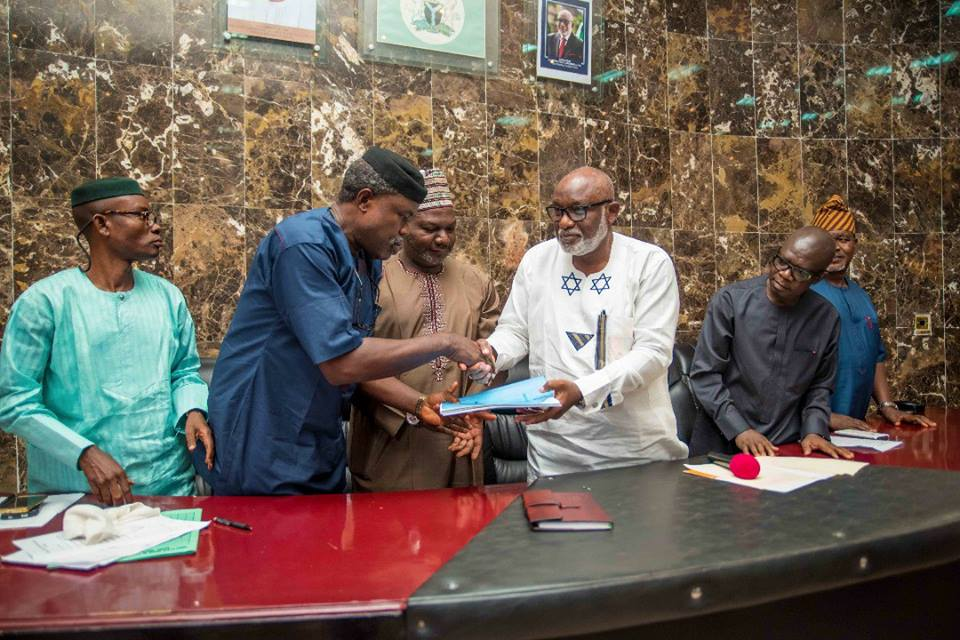 ADDRESS DELIVERED BY ARAKUNRIN OLUWAROTIMI ODUNAYO AKEREDOLU, SAN, ON THE OCCASION OF THE SIGNING OF THE 2017 APPROPRIATION BILL INTO LAW
