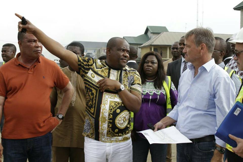 Governor Wike inspects key road projects, holds state executive council meeting