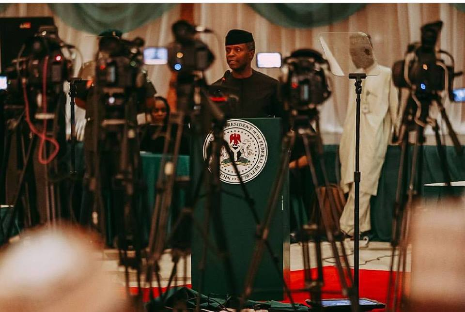 REMARKS BY ACTING PRESIDENT, PROF. YEMI OSINBAJO, AT A CONSULTATIVE MEETING WITH STATE GOVERNORS