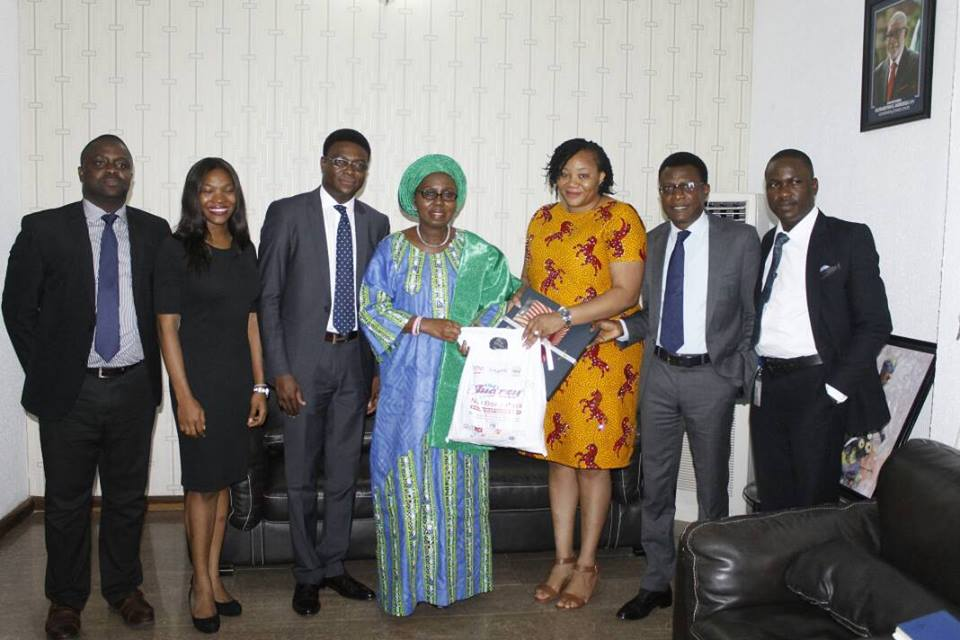 MTN Audrey Care Team visits Ondo First Lady