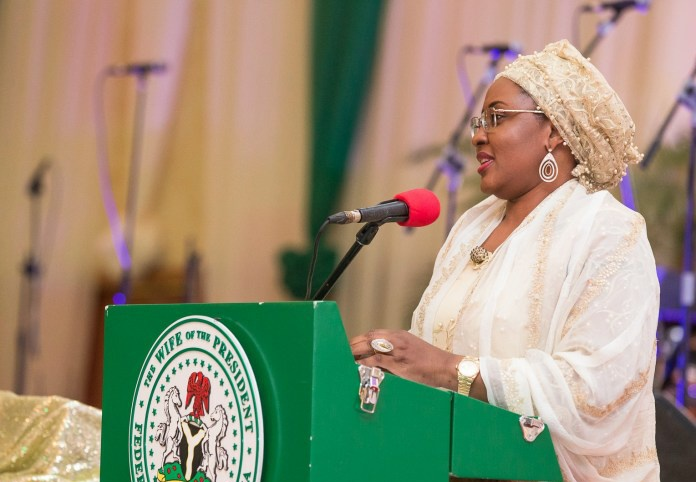 Aisha Buhari Urges Youth to Use Privilege Wisely and Responsibly