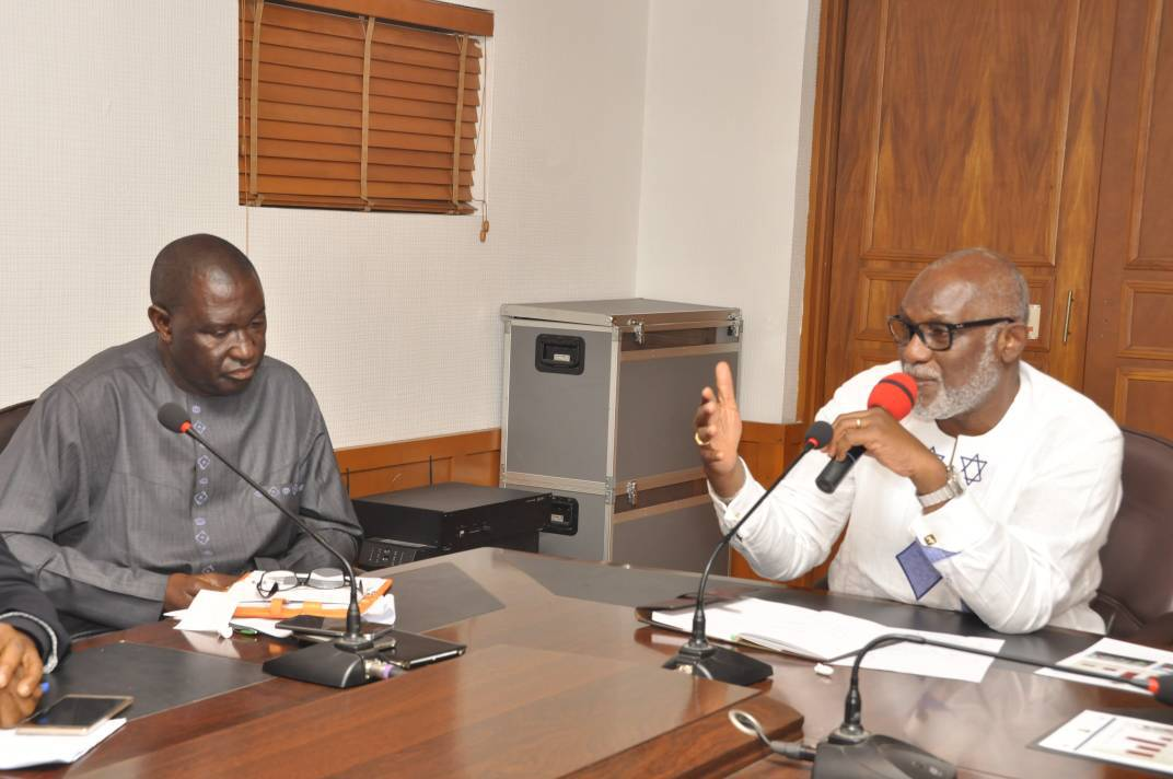 Akeredolu assures citizens of accessible health care delivery