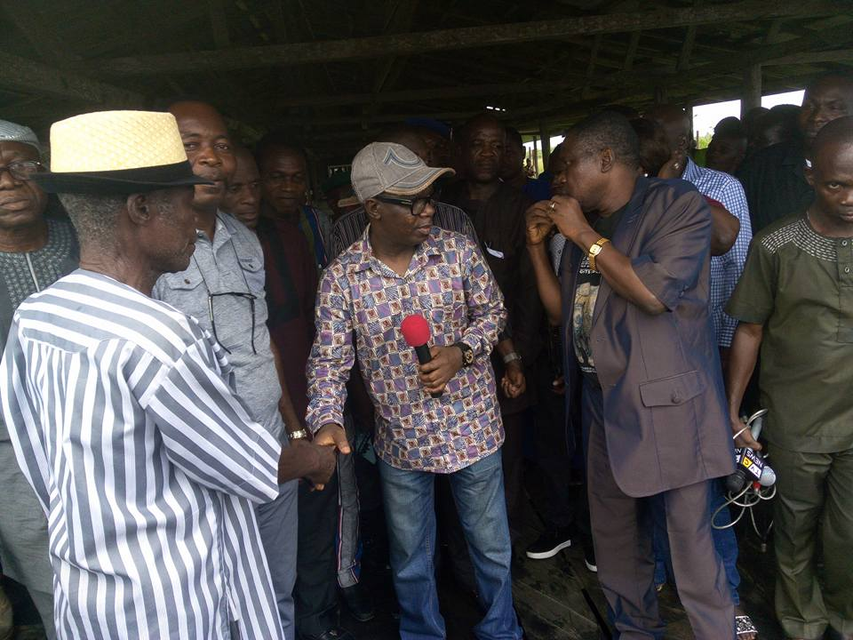 Ondo donates N25million relief materials to community invaded by soldiers
