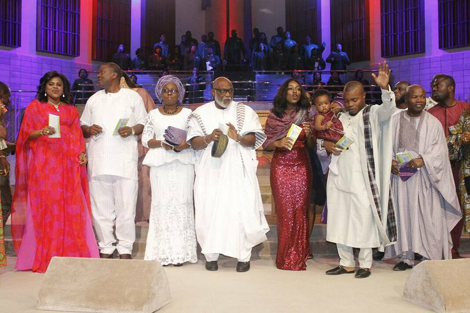 Faces @ Gov Akeredolu's first granddaughter's birthday thanksgiving service