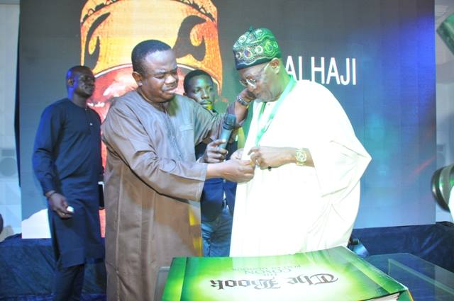 COSON Hosts, Honours Minister Lai Mohammed With Splendour