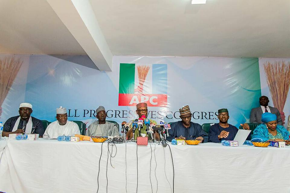 APC Names Ten Member Committee To Articulate Party's Position On Restructuring