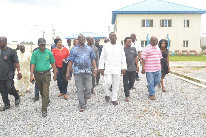 OSOPADEC Board, Management end a 3-day projects verification tour