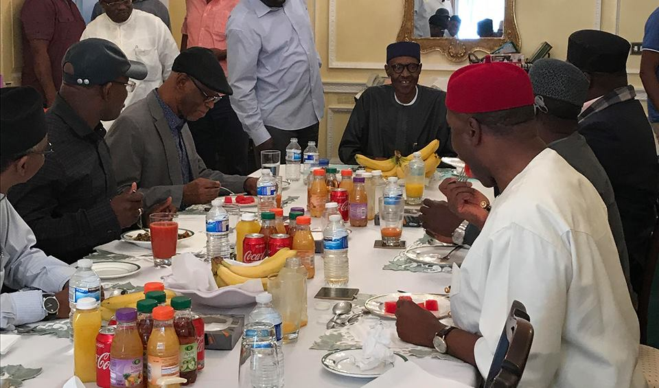 APC National Chairman, Chief John Odigie-Oyegun Speaks On Party Leader's Sunday Visit To President Muhammadu Buhari In London