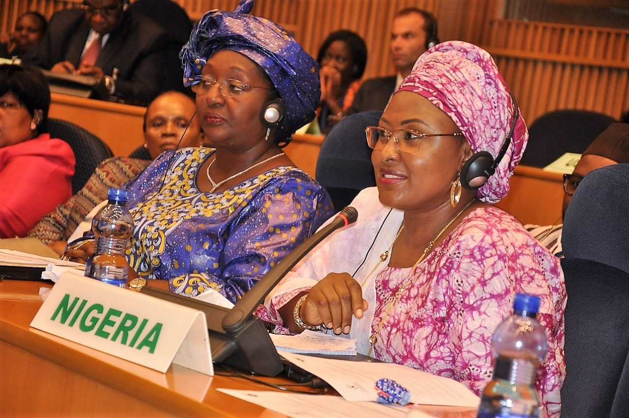 Aisha Buhari at OAFLA: Calls for innovative partnerships for better health outcomes in Africa