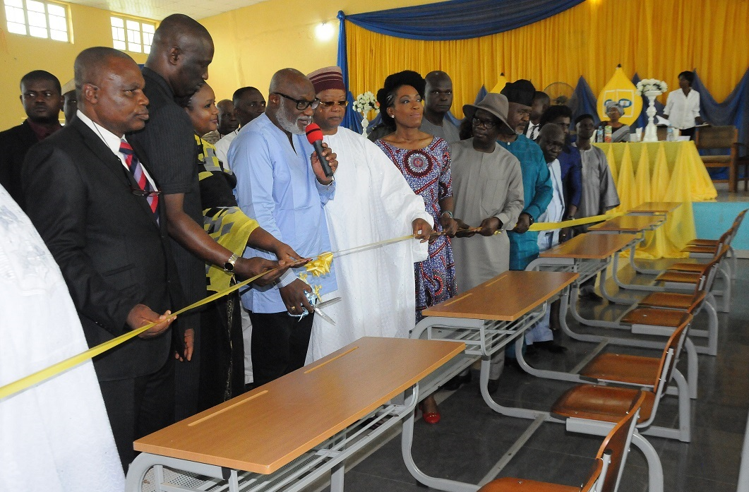 Gov. Akeredolu canvasses corporate support as review of school curriculum made certain