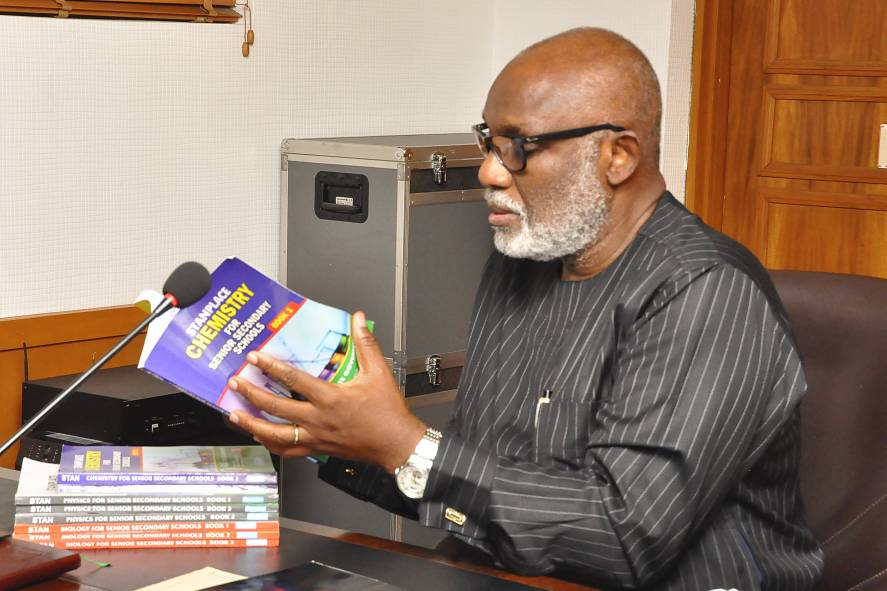GOV. AKEREDOLU COMMENDS SCIENCE TEACHERS FOR ADVANCING EDUCATION IN ONDO STATE