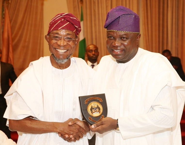 AMBODE, NIGERIA'S GOVERNOR GENERAL – AREGBESOLA  …As Lagos Gov Takes Crusade For South West Integration To Osun