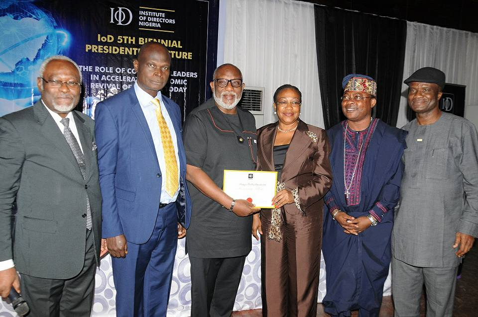 Photos: Business Mogul, Prince  Rotimi Ibidapo and others during the 5th Biennial Presidential Lecture of the Institute of Directors Nigeria held at Metropolitan Club