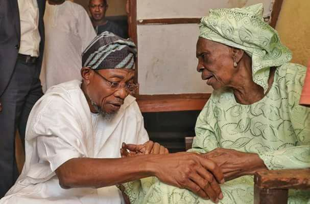 Akeredolu Commiserates With Aregbesola Over His Mother's Death