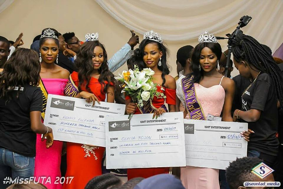 Oluwatosin is Miss FUTA 2017
