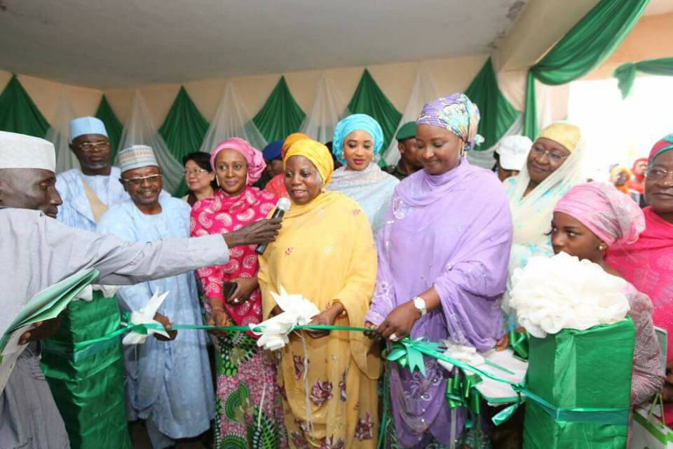 Aisha Buhari Commissions Breastfeeding Rooms For Working Mothers In Kebbi