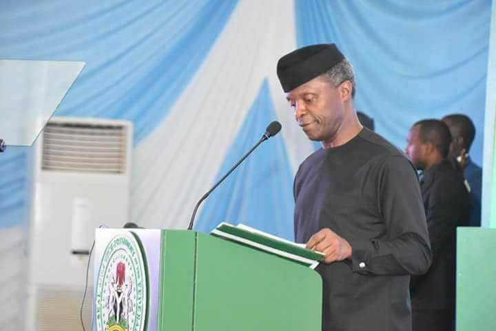 We want to reposition Niger state to feed Africa – Osinbajo