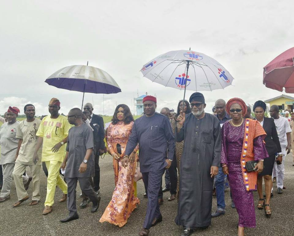 Arakunrin Akeredolu pledges conducive environment for investors as Air Peace makes its first flight in Ondo state