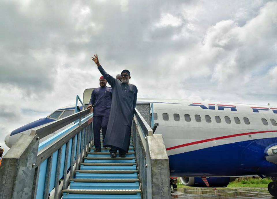 Dividends of CHANGE ushers Air Peace to Ondo State, says Gov. Akeredolu