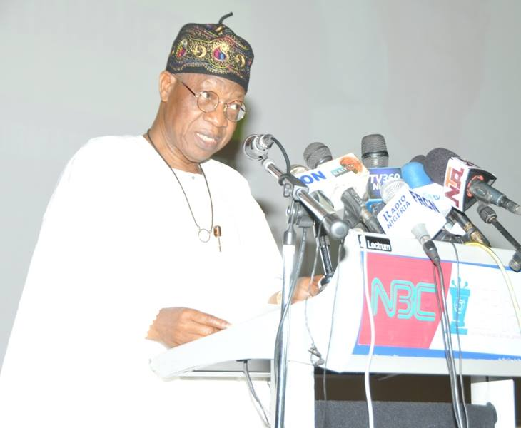 Hate Speech: FG directs NBC To Sanction Erring Stations