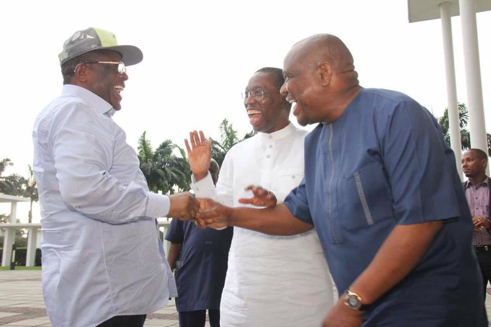 South-South/South-East Governors Meet: Seek Regional development