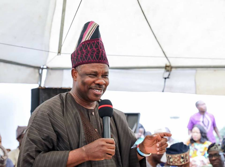 Amosun Meets APC Faithful, Restates Commitment for Ogun West Candidacy in 2019