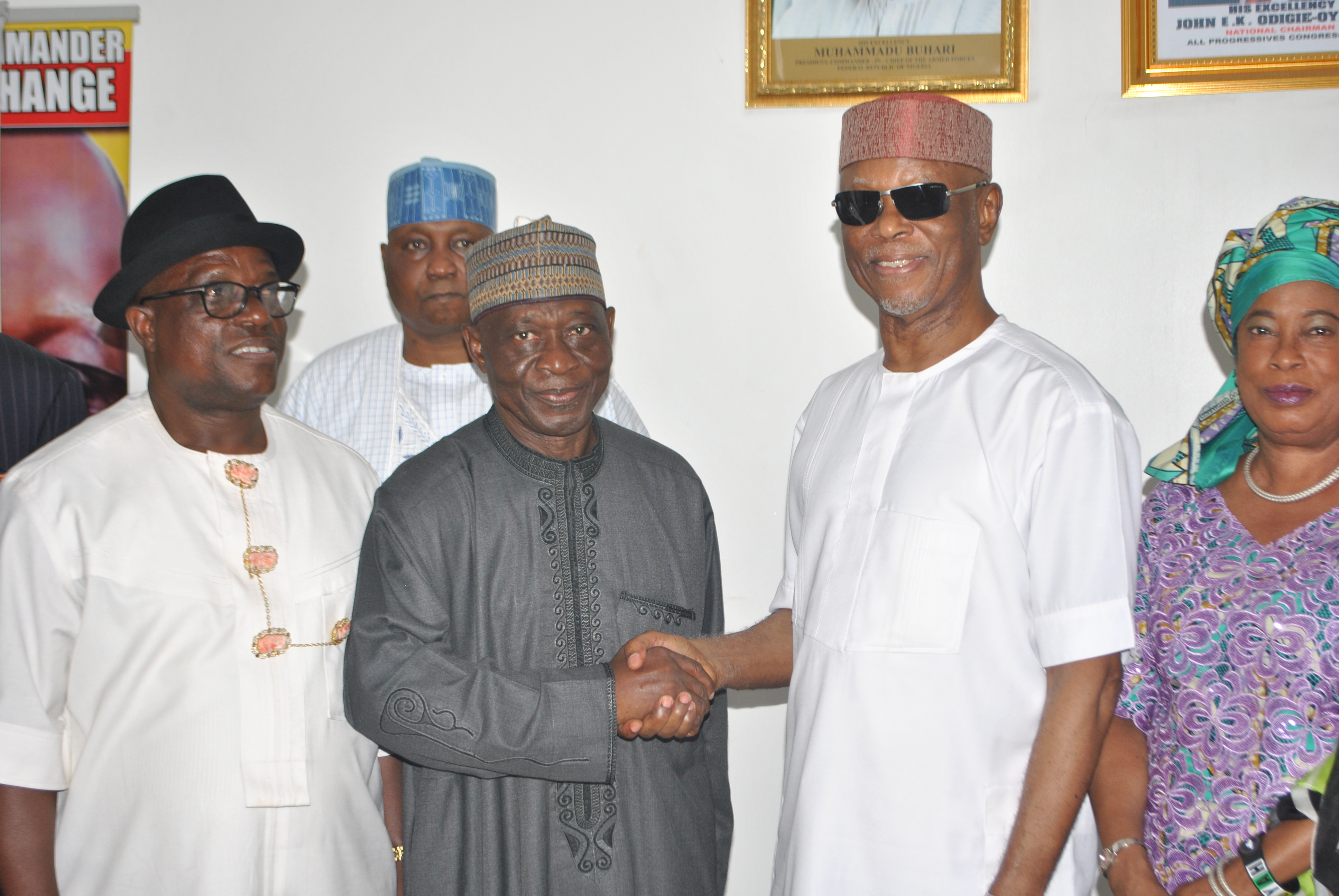 APC Inaugurates 7-Member Reconciliation Committee For Kogi  We Want Peace In Kogi State, Says Odigie-Oyegun