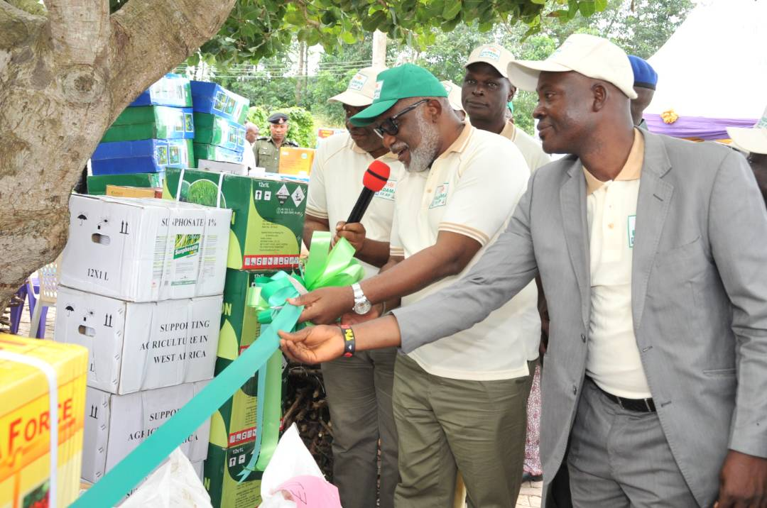 We will use agriculture to create wealth and jobs, says Gov. Akeredoku