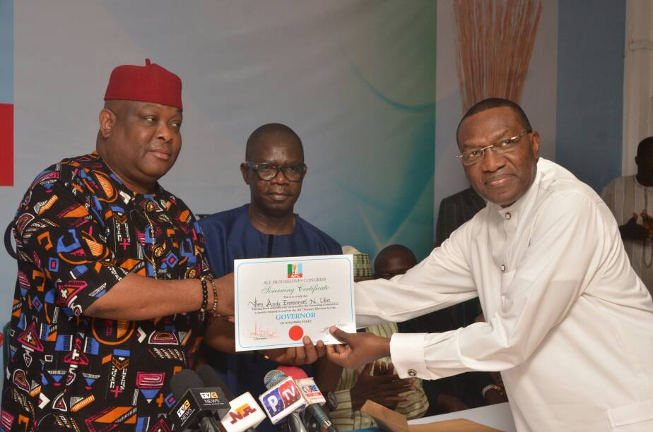 Agboola's screening committee clears 12 aspirants for Anambra APC guber primary poll