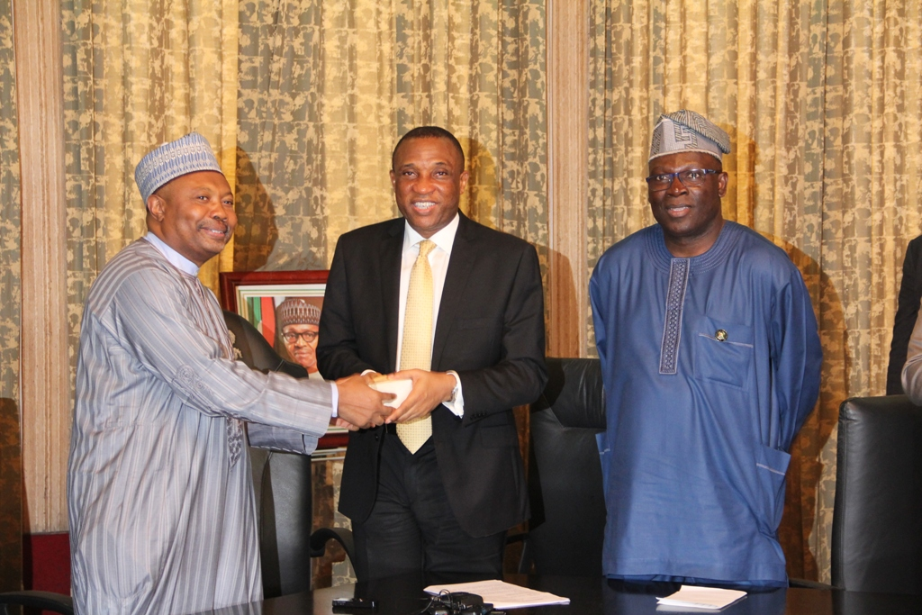 FG HANDS OVER PRESIDENTIAL LODGE, MARINA TO LASG …State Promises To Preserve Architectural Finesse, Beauty