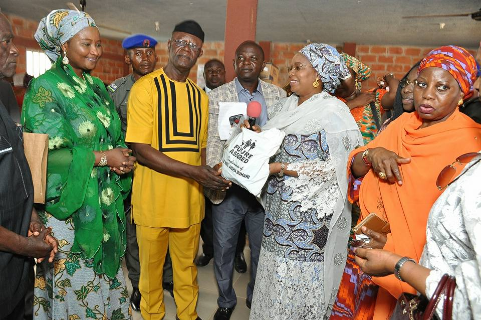Aisha Buhari urges Nigerians to show support to victims of flooding in Benue state
