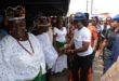 Akeredolu's wife provides Free Medical check-ups and Free Treatment for market women in Owo