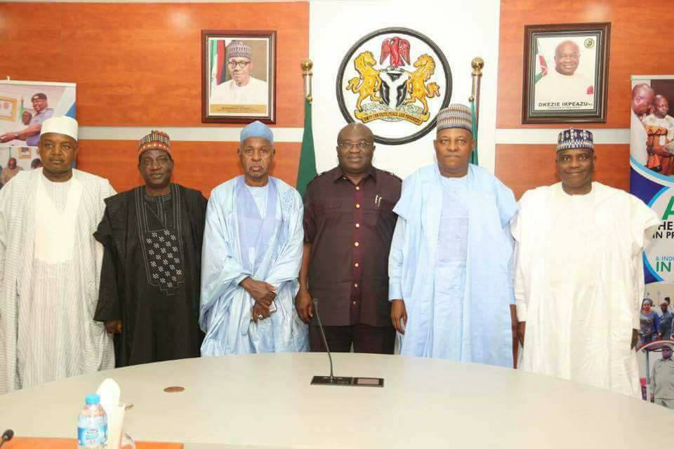 Northern Governors Arrive Abia State After IPOB Clash With Military