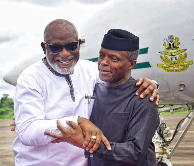 Gov Akeredolu's speech at the Opening of the 2nd National Council on Niger Delta Meeting
