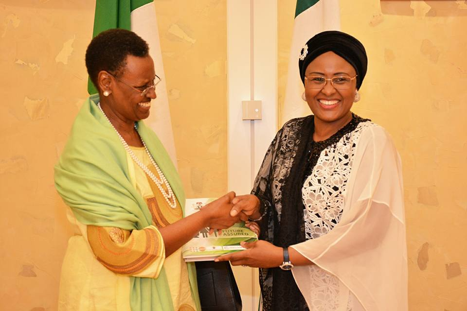 Mrs. Buhari receives Hon. Museveni, restates resolve on issues of women and children